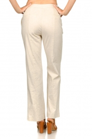 Aaiko |  Straight trousers Lanella | natural  | Picture 6