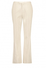 Aaiko |  Straight trousers Lanella | natural  | Picture 1