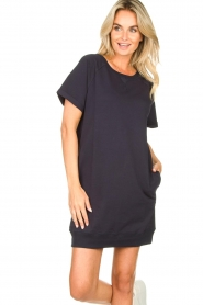 Blaumax |  Sweater dress Queens | blue  | Picture 4