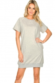 Blaumax |  Sweater dress Queens|grey  | Picture 4