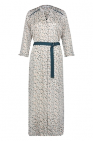 Aaiko |  Maxi dress with print Seleni| white  | Picture 1