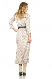 Aaiko |  Maxi dress with print Seleni| white  | Picture 6