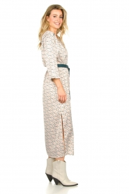 Aaiko |  Maxi dress with print Seleni| white  | Picture 5