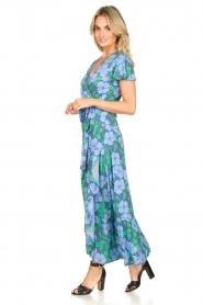 Genesis |  Floral maxi dress Aiko | blue  | Picture 4
