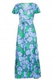 Genesis |  Floral maxi dress Aiko | blue  | Picture 1