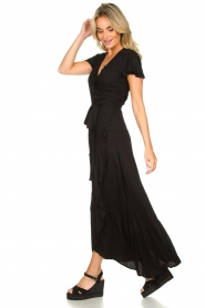 Genesis |  Maxi dress Aiko | black  | Picture 6