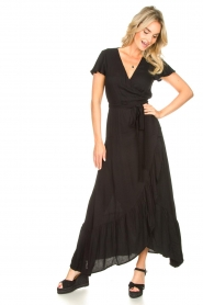 Genesis |  Maxi dress Aiko | black  | Picture 5