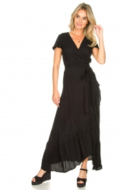 Genesis |  Maxi dress Aiko | black  | Picture 4