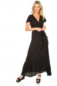 Genesis | Maxi-jurk Aiko | zwart  | Afbeelding 3