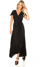 Genesis |  Maxi dress Aiko | black  | Picture 2