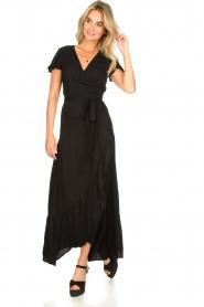 Genesis | Maxi-jurk Aiko | zwart  | Afbeelding 2