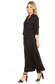 Genesis | Maxi-jurk Daik | zwart  | Afbeelding 4