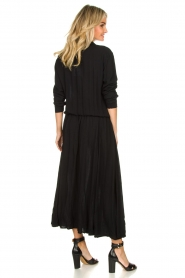Genesis | Maxi-jurk Daik | zwart  | Afbeelding 5