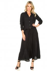 Genesis | Maxi-jurk Daik | zwart  | Afbeelding 2