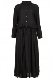 Genesis | Maxi-jurk Daik | zwart  | Afbeelding 1