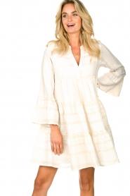 Devotion |  Cotton dress Georgina | natural  | Picture 5