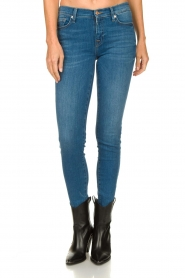 7 For All Mankind |  Skinny jeans Bair Park Avenue | blue  | Picture 8