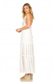 Sundress |  Maxi dress with sequins Ulla | white  | Picture 5
