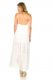 Sundress |  Maxi dress with sequins Ulla | white  | Picture 6