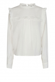 Sofie Schnoor |  Top with ruffles Adrine | white   | Picture 1