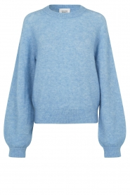 Second Female |  Knitted sweater Brook | light blue  | Picture 1
