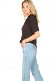 Sofie Schnoor |  Basic blouse Verrona | black  | Picture 5