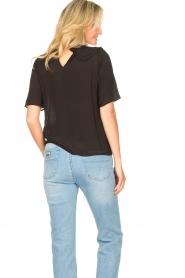 Sofie Schnoor |  Basic blouse Verrona | black  | Picture 6