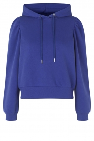 Second Female    Basic hoodie Carmelle   blue    Picture 1