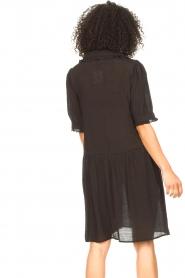 Sofie Schnoor | Transparante jurk Valeria | zwart   | Afbeelding 6