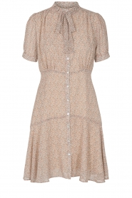 Sofie Schnoor |  Dress with print Cathy | beige  | Picture 1