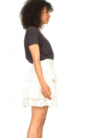 Sofie Schnoor |  Embroidery skirt Shaela | white  | Picture 6