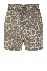 Sofie Schnoor |  Shorts with panther print Chloe | animal print  | Picture 1