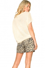 Sofie Schnoor |  Shorts with panther print Chloe | animal print  | Picture 5