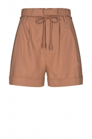 Sofie Schnoor | Paperbag shorts Charly | brown  | Picture 1
