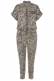 Sofie Schnoor |  Jumpsuit with panther print Lana | animal print  | Picture 1