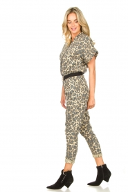 Sofie Schnoor |  Jumpsuit with panther print Lana | animal print  | Picture 6