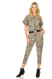 Sofie Schnoor |  Jumpsuit with panther print Lana | animal print  | Picture 4