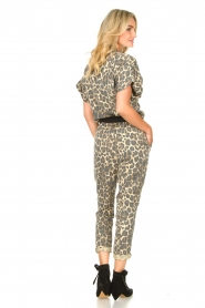 Sofie Schnoor |  Jumpsuit with panther print Lana | animal print  | Picture 7
