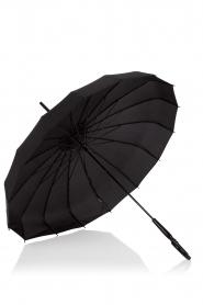 Lisbeth Dahl | Paraplu Pagoda | zwart  | Afbeelding 2