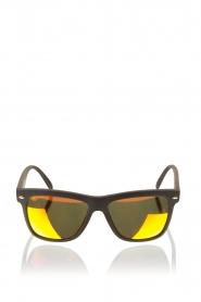 Spektre | Zonnebril Memento Matte Black | oranje  | Afbeelding 1