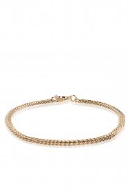 Geef elke outfit een glamorous update met deze lichtgouden chain ketting van tov essentials. de ...