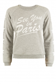 Sweater See You In Paris | grijs