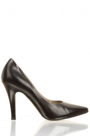 Leather pumps Nicole | black