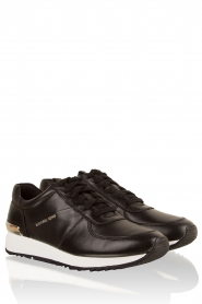 Leather sneakers Allison | black