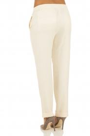 Hoss Intropia | Pantalon Luzia | off-white   | Afbeelding 5
