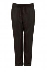 Hoss Intropia | Pantalon Luzia | zwart  | Afbeelding 1