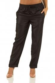 Hoss Intropia | Pantalon Luzia | zwart  | Afbeelding 2
