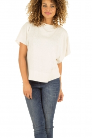 Hunkydory | Top Nickelby | creme   | Afbeelding 2
