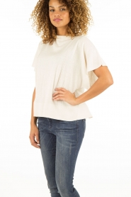 Hunkydory | Top Nickelby | creme   | Afbeelding 4