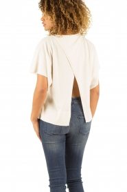Hunkydory | Top Nickelby | creme   | Afbeelding 5